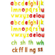 Colour Coded Magnetic Letters Print Pack 1