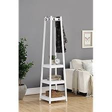 Coat Rack With Storage Shelves Adorable Amazon Coat Rack Stand With 32Tier Storage Shelves And Hooks