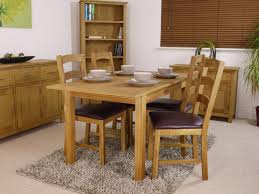 oak dining table and chairs. Nebraska Modern Oak Dining Table Set \u0026 Chairs And