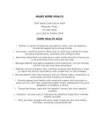Teacher Aid Resume Teacher Aides Job Description Home Health Aide ...