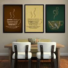sure life vintage coffee cup poster paintings on canvas wall art print pictures for bar office wall frames s31 wall