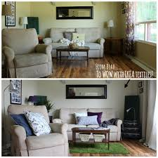 quick easy living room makeover