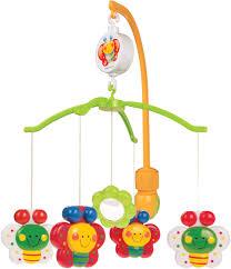 <b>Canpol</b> Babies <b>Мобиль</b> музыкальный Бабочки <b>Happy Garden</b> ...