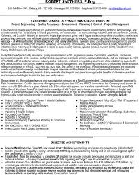 Consulting Engineer Sample Resume 1 Quality Assurance 31 Best