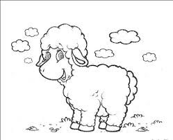 Small Picture sheep coloring pages for kids free printable colouring Preschool