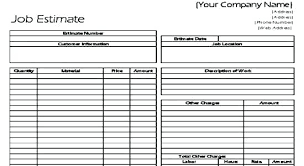Subcontractor Bid Form Template – Gloryandhonour.co
