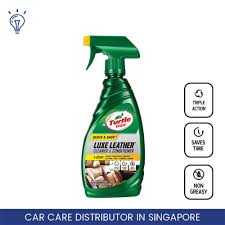 turtle wax luxe leather cleaner conditioner t363 interior car care clean condition and