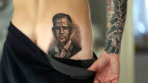 This Man Got A Massive Jeremy Kyle Tattoo On His Bum Heart