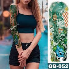 новый 1 шт временные татуировки стикер японский стиль дракон океан тату боди арт