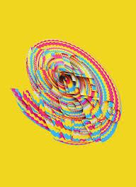 Spectrum Graphic Design Optical Illusion Typography By Velvet Spectrum Graphic