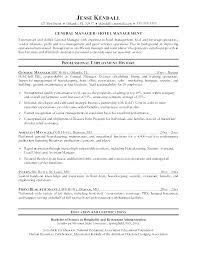 Objective For Housekeeping Resumes Housekeeping Supervisor Resume Template Sample Free