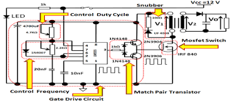 switching pulse control of high voltage generator fig control  6 switching pulse control of high voltage generator fig 7 control frequency pulse
