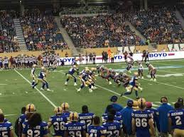 Investors Group Field Section 129 Home Of Winnipeg Blue