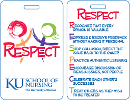 respect program school of nursing at the university of kansas an example of the badge buddy cards available to faculty staff and students and including