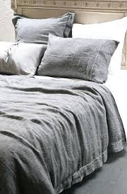 grey linen duvet cover amazing flax linen duvet cover sham natural pottery barn for grey linen