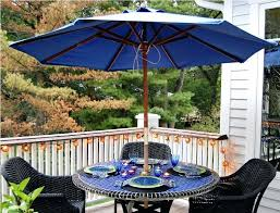 brilliant folding patio table with umbrella hole ideas enjoyment round outside and chairs fabulous