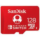 Sandisk 128GB 100MB/s microSDXC Memory Card for Nintendo Switch SDSQXAO-128G-CNCZN
