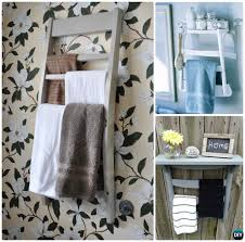 diy recycled chair towel rack instruction ways to repurpose old chairs diy ideas