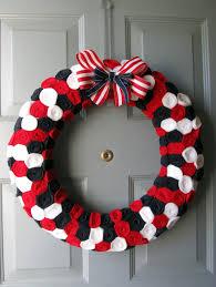 patriotic wreaths for front doorFestive July 4th DIY Wreaths Easy Simple  Inspired