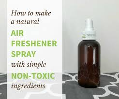 make your own natural air freshener spray with simple non toxic ings a