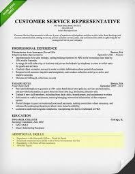 resume example for skills section customer service skills resume examples unique customer service