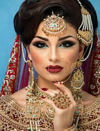 bridal hair and makeup by anisha siddique in bradford