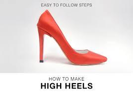 Design Own Shoes Heels Online Course High Heels