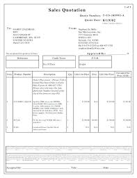 Price Quotation Templates Sample Sheet Template Auto Quote