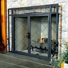 fireplace screen and doors rustic fireplace screen photo 2 of 7 awesome custom fireplace screen doors fireplace screen