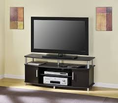 desirable tv stand unit espresso color option and birch wood perfect vintage modern tv stand