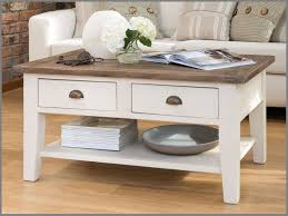 charming french country coffee table with two drawers english country coffee tables