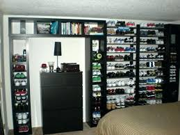 wall shelves for shoes best ideas about wall mounted shoe view larger shrine sneaker wall rack sneaker rack shoe wall