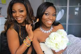 wedding makeup look for darker skin