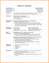 Resume Samples For Students 24 College Resume Samples Graphicresume 20