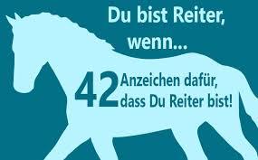 42 Anzeichen Dafür Dass Du Ein Reiter Bist Herzenspferd