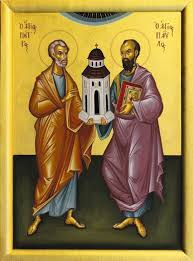 Image result for Sts. Timothy and Titus, Bishops.