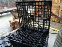 plastic pallets for sale. used plastic pallets - 40x48 pallets, mix of nesting and with runners. for salecarolina sale e