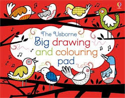 draw doodle colour big book pad activity children usborne book busy travel holiday