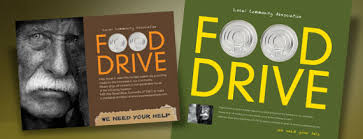 Food Drive Posters Holiday Food Drive Posters Flyer Ads Postcards Designed