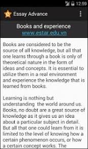 advance english essay android apps on google play  advance english essay screenshot thumbnail