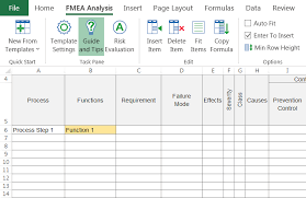 In this article we will summarize the major changes. Fmea Template For Excel Download Quick Tips Iqasystem