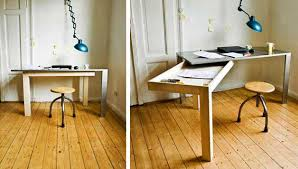 office furniture for small spaces. Furniture For Small Spaces Amazing Modern Beige Wooden Office 17  Folding Dining Tables Chairs Within Office Furniture For Small Spaces N