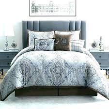 hotel collection bedding 7 piece comforter set linen stripe be macys king hot
