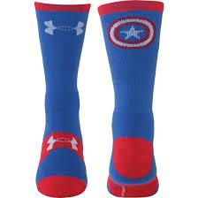under armour socks. under armour alter ego captain america crew socks k