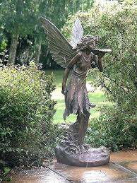 angel garden. angel garden statue statues for large standing fairy ornament