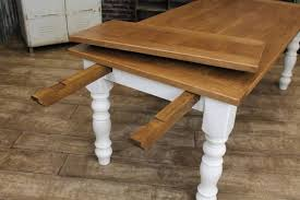 farmhouse table with leaves. Farmhouse Table With Leaves