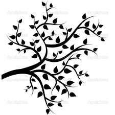tree branch with leaves vector. leaf branch silhouette - google search tree with leaves vector w