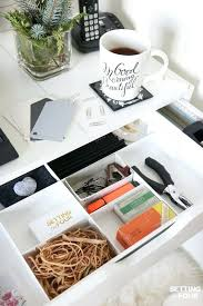 office drawer organizers. Medium Image For 5 Easy Organization Ideas To Create The Chicest Desk Ever Office Drawer Organizers