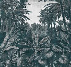 tropical mornings by londonart wall coverings wallpapers