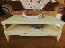 annie sloan chalk paint old ochre coffee table redo